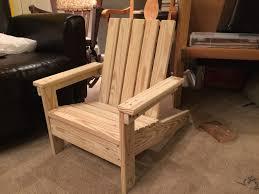 Ana White Childs Adirondack Chair by Diy Kid U0027s Adirondack Chair U2013 Redeemed Creative