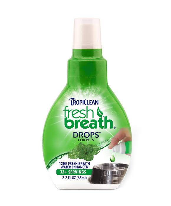 TropiClean Fresh Breath Drops for Pets - 65ml