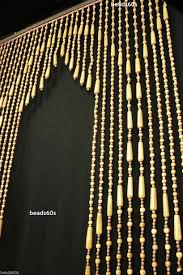 Natural Bamboo Beaded Door Curtain by Beaded Curtain Archway Decorate The House With Beautiful Curtains