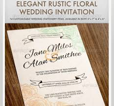 45 Beautiful Wedding Invitation PSD Templates Photoshop And InDesign