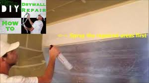 Homax Ceiling Texture Home Depot by How To Spray Homax Orange Peel Texture In A Can Youtube
