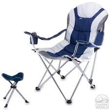 Camp Chair With Footrest by Reclining Camping Chair With Footrest Home Design Ideas