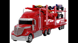 100 Semi Truck Toy RC Race Car Transport Carrier Remote Control