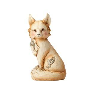 Jim Shore White Woodland Fox Figurine