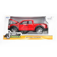 100 Just Trucks Series 2017 Ford F150 Raptor Red 124 Scale