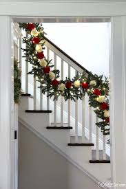 Let's Stay Home For Christmas Home Tour - Kelly Elko Christmas Decorating Ideas For Porch Railings Rainforest Islands Christmas Garlands With Lights For Stairs Happy Holidays Banister Garland Staircase Idea Via The Diy Village Decorations Beautiful Using Red And Decor You Adore Mantels Vignettesa Quick Way To Add 25 Unique Garland Stairs On Pinterest Holiday Baby Nursery Inspiring The Stockings Were Hung Part Staircase 10 Best Ideas Design My Cozy Home Tour Kelly Elko