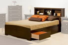 Headboard Designs For Bed by Full Size Storage Bed With Bookcase Headboard Design U2013 Home