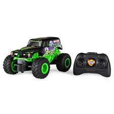 100 Monster Jam Toy Truck Videos Official Grave Digger Remote Control 1