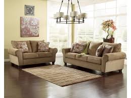 Ashley Larkinhurst Sofa Set by Ashley Furniture Galand Umber Sofa With Rolled Arms Gill