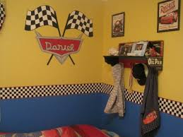 Disney Cars Lightning Mcqueen Mater Room My 3 Year Old Is A Fan Of