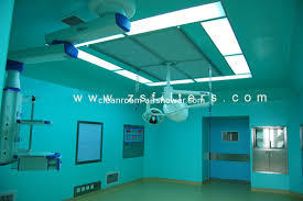 Ceiling Radiation Damper Boot by Supply Class 5 Laminar Flow Ceiling 2950 2500 500 For Hospital