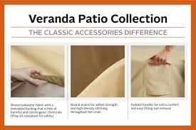 100 Patio Stack Chair Covers Classic Accessories Veranda Able S Cover Durable And