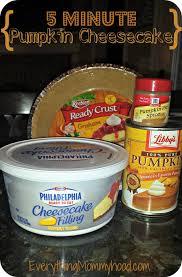 Libbys Pumpkin Roll Recipe by Recipe 5 Minute Pumpkin Cheesecake With Libby U0027s Pumpkin Puree