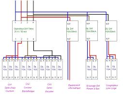 tableau electrique pre cable triphase monde de l électronique et