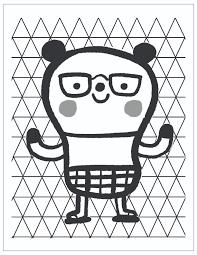 Free Printable Fathers Day Coloring Page Bear Hug