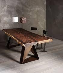 tolle echtholz tisch esstisch holz live rand möbel haus