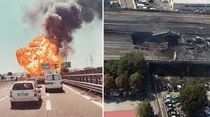 Three Dead, 60+ Injured After Tanker Truck Explosion Collapses ... Five Die In Ondo Tanker Explosion 3 Dead After Truck Crashes And Explodes Smyth County Tanker Sending Deadly Fireball Across Italy Motorway Oil Tanker Fire Wasatch Fire Why Cant I Find Any European Scs Software Truck Explosion Three Dead 60 Injured After Collapses Fiery Crash Shuts Down I94 Near Troitdearborn Gnville The Daily Gazette Of A On The Highway Montreal Canada Full 2 Men Fuel Kivitvcom Boise Id 105 Freeway Kills Two People Nbc