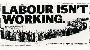 Boards The Conservative Partys Labour Isnt Working Poster Campaign Against