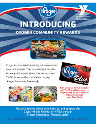 Kroger Customer Service Desk by Caylor Nickel Foundation Family Ymca