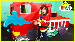 Ryan Pretend Play With Fire Truck Box Fort - YouTube Hurry Drive The Fire Truck Car Songs Pinkfong For Song Children Nursery Rhymes With Blippi Youtube Jamaroo Kids Childrens Storytime Learn Vehicles School Bus Police Train Toys Trucks Fire Truck Song Monster Truck For Compilation The Garbage By Explores Video Engine Educational Videos