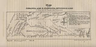 Map Of The Virginia And N Carolina Dividing Line Fayetteville North