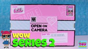 LOL Surprise Doll SERIES 2 Tots Lil Sisters Present Toy Review Unboxing