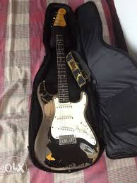 John Mayer Stracotcaster GuitAr The Black One Replica