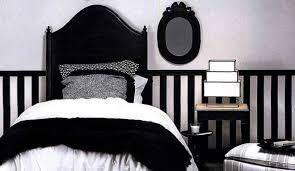 deco noir et blanc chambre décoration chambre noir et blanc exemples d aménagements