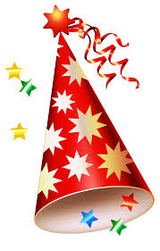 Red Party Hat Transparent PNG Clipart