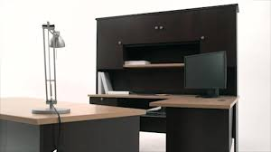 Bestar L Shaped Desk by Merritt U Shape Desk Video Gallery