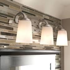 Bathroom Light Fixtures Over Mirror Home Depot by Three Light Bathroom Fixturecrystal Curtain Bath Light Bathroom