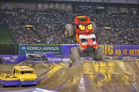 Trail Mixed Memories: Our First Monster Jam! Monster Trucks Galore ...