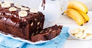 schoko bananen kuchen schneller einfacher kastenkuchen