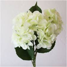 Silk Flowers Mint Green Hydrangeas And Other Silk Florals At Afloral