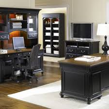 Home Styles Cabin Creek Executive Desk With Hutch And Mobile File