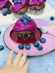 blaubeer heidelbeer muffins kinderrezept