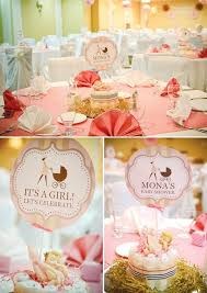 Pink Plaid Burberry Baby Shower Hostess With The Mostess Centerpiece Ideas Gifts