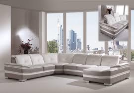 magasin de canapé d angle canapé d angle en cuir panoramique modèle ophelie magasin de