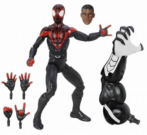 Marvel Spider-Man Legends Series Action Figure - Miles, 6""