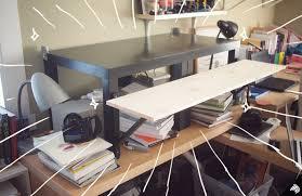 Standing Desks Ikea My Diy Standing Desk The 22 31 Ikea Hack Imaginary Zebra Iz