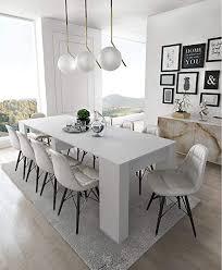 home innovation konsoletisch esstisch ausziehbar bis 237 cm esszimmertisch und wohnzimmertisch rechteckig weiß glänzend maße geschlossen