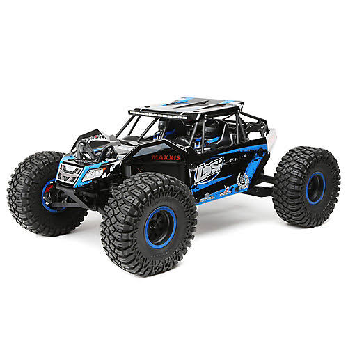 Losi 1:10 Scale 4WD Ready-to-Race Rock Rey with AVC - Blue