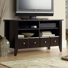 Shoal Creek Desk In Jamocha Wood by Shoal Creek Panel Tv Stand
