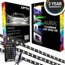 AURA LED Truck Bed Strip Lighting Kit - RGBW Multi-Color Full ... Truck Bed Lighting Kit 8 Modules Free Installation Accsories Cheap System Find Opt7 Aura 8pc Led Sound Activated Multi Lumen Trbpodblk 8pod Lights Ford F150 Where To Buy 12v White Light Strips For Cars Led Light Deals On Line At Aura Pod Multicolor With Remotes 042014 Rear Tailgate Emblem 2 Tow Hitch Cover White For Chevy Dodge Gmc Ledglow Installation Video Youtube 8pcs Rock Under Body Rgb Control