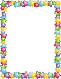 Star Border Clip Art Page And Vector Graphics