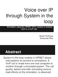 VoIP Through OPNET's System-in-the-loop | Voice Over Ip | Gateway ... Callmon Voip Phone Testing Interface Brel Kjr Sound Vibration Voice Quality Testing Vqt Software Polqa Pesq Marketplace Network Manager Gns3 Project Presentation Analyzing Factors That Affect Call Us270008899 System And Method For Monitoring Jitter Buffer Over Ip Explained An Easy Solution To Improve Video With Vanalytics Youtube Insights The Keys To Overcoming Poor 888voipcom Business Phone Systems Reporting How Get The Best On Your Viber