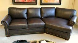Bradington Young Leather Sectional Sofa by Bradington Young Curriers Leather Furniture