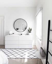 weiß kommode minimal schlafzimmer decoracion homedecor