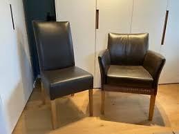 eßzimmerstühle leder möbel gebraucht kaufen ebay