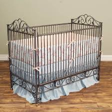 Bratt Decor Crib Used by Bratt Decor Baby Crib Wrought Iron Metal Ornate Daybed Elegant